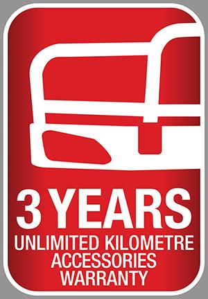 Hino Bullbars: 3 year warranty